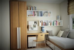 Desain Kamar Tidur Sederhana dan Modern Untuk Kamar Kecil