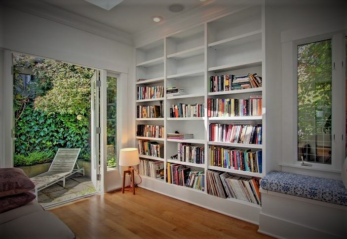 Desain Perpustakaan Buku yang Minim Buatan Tangan Untuk Pecinta Buku