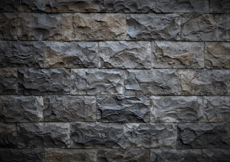 Model batu alam cocok untuk hiasan di teras atau di depan rumah
